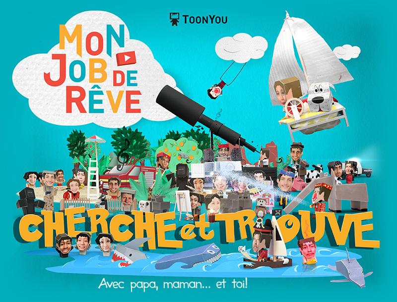 Toonyou Mon Job De Reve Vos Dessins Animes Personnalises